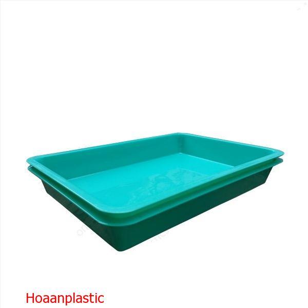 Khay nhựa đựng linh kiện (kệ dụng cụ) hình chữ nhật Phú Hòa An