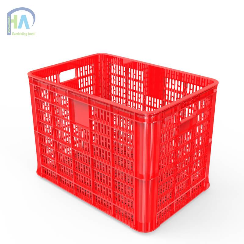Thùng nhựa rỗng HS005 màu đỏ bền đẹp