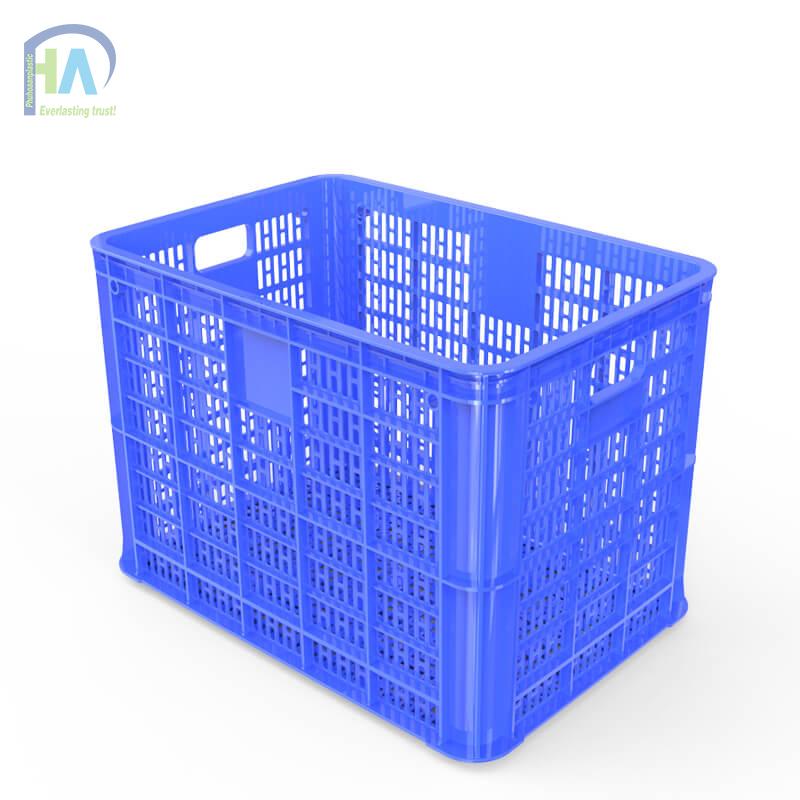 Thùng nhựa rỗng HS005 màu xanh dương dày dặn