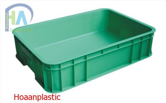 Thùng nhựa đặc B11