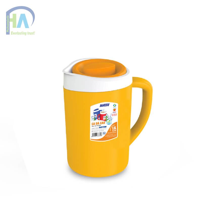 Bình giữ nhiệt 1.5 L màu cam giá rẻ