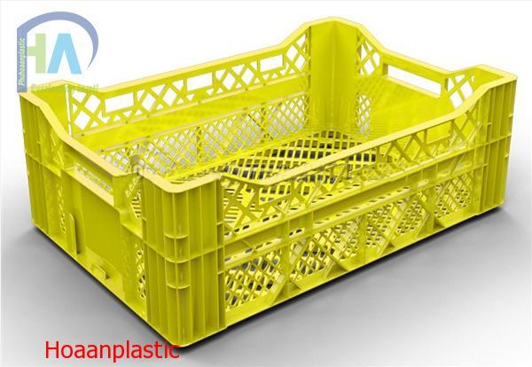 Thùng nhựa rỗng (sóng nhựa hở) HS016