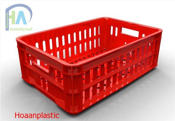 Thùng nhựa rỗng (sóng nhựa hở) HS020