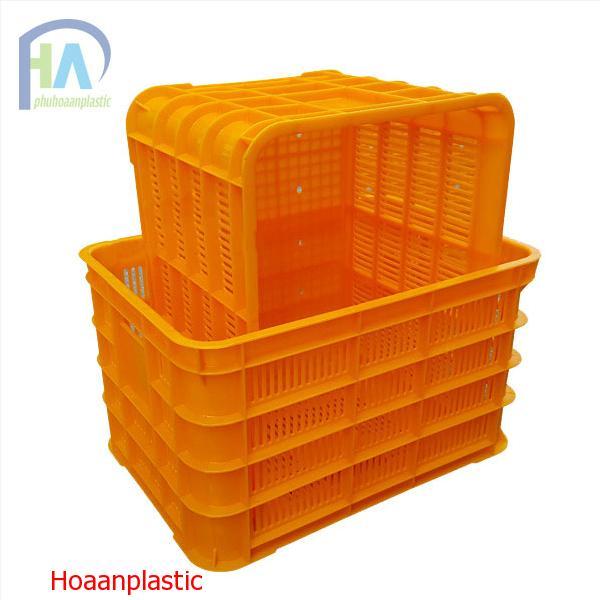 Thùng nhựa rỗng (sóng nhựa hở) HS012