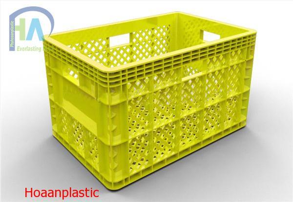 Thùng nhựa rỗng (sóng nhựa hở) HS013