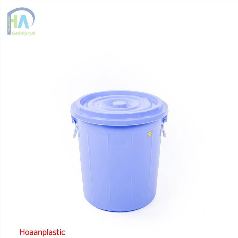 Thùng nhựa tròn 35 lít có nắp