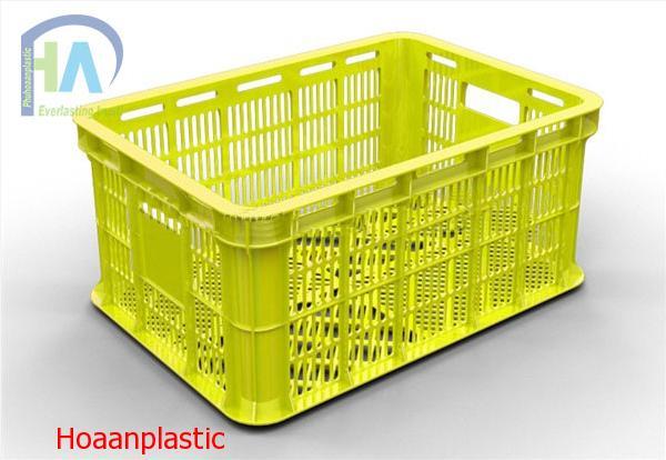 Thùng nhựa rỗng (sóng nhựa hở) HS018