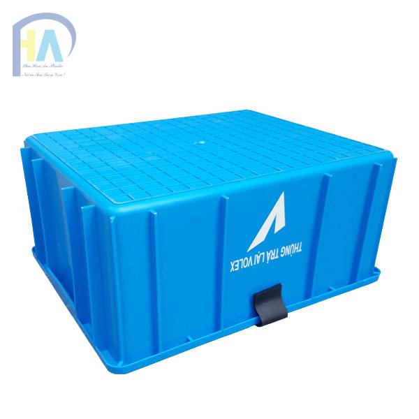 Thùng nhựa đặc B10 Phú Hòa An được khách hàng tin dùng