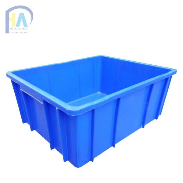 Thùng nhựa đặc B10 cam kết chất lượng vượt trội