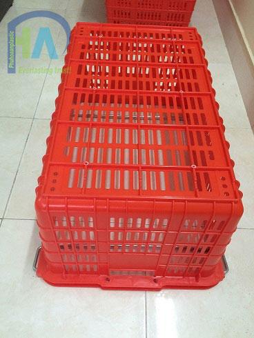 Thùng nhựa rỗng (sóng nhựa hở) HS011 được khách hàng tin dùng