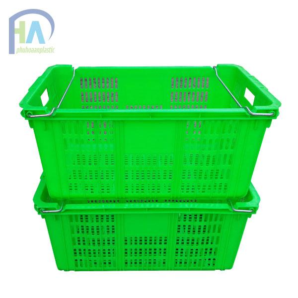 Thùng nhựa rỗng (sóng nhựa hở) HS011 giao hàng toàn quốc