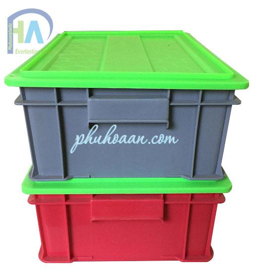 Phú Hòa An chuyên bán Thùng nhựa có nắp B4 giá rẻ