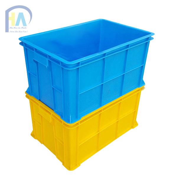 Thùng nhựa đặc B5 phân phối toàn quốc