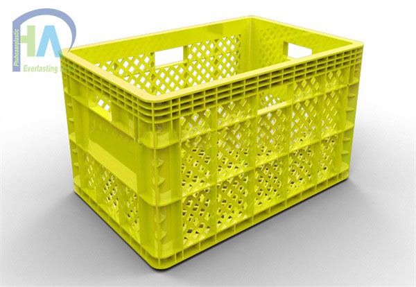 Thùng nhựa rỗng (sóng nhựa hở) HS013 giá rẻ bất ngờ