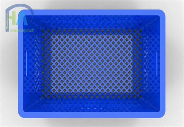 Thùng nhựa rỗng (sóng nhựa hở) HS013 được khách hàng tin dùng