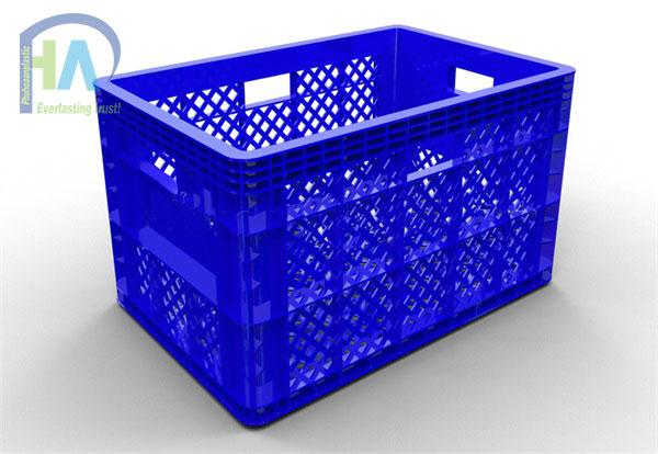 Thùng nhựa rỗng (sóng nhựa hở) HS013 cam kết giá rẻ