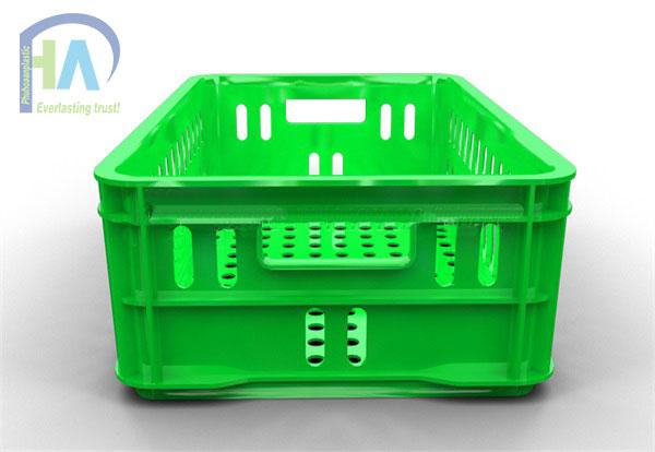 Thùng nhựa rỗng (sóng nhựa hở) HS020 siêu bền bỉ, giá tốt