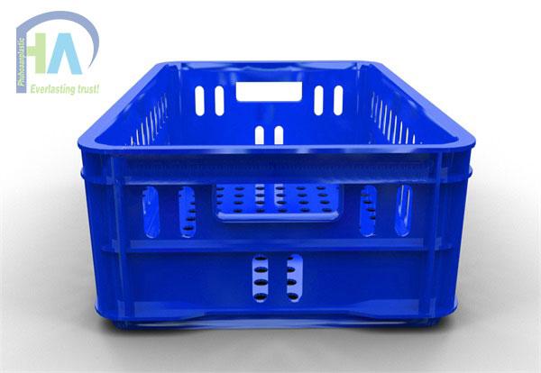 Tìm mua Thùng nhựa rỗng (sóng nhựa hở) HS020 cao cấp