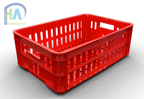 Thùng nhựa rỗng (sóng nhựa hở) HS020 cao cấp