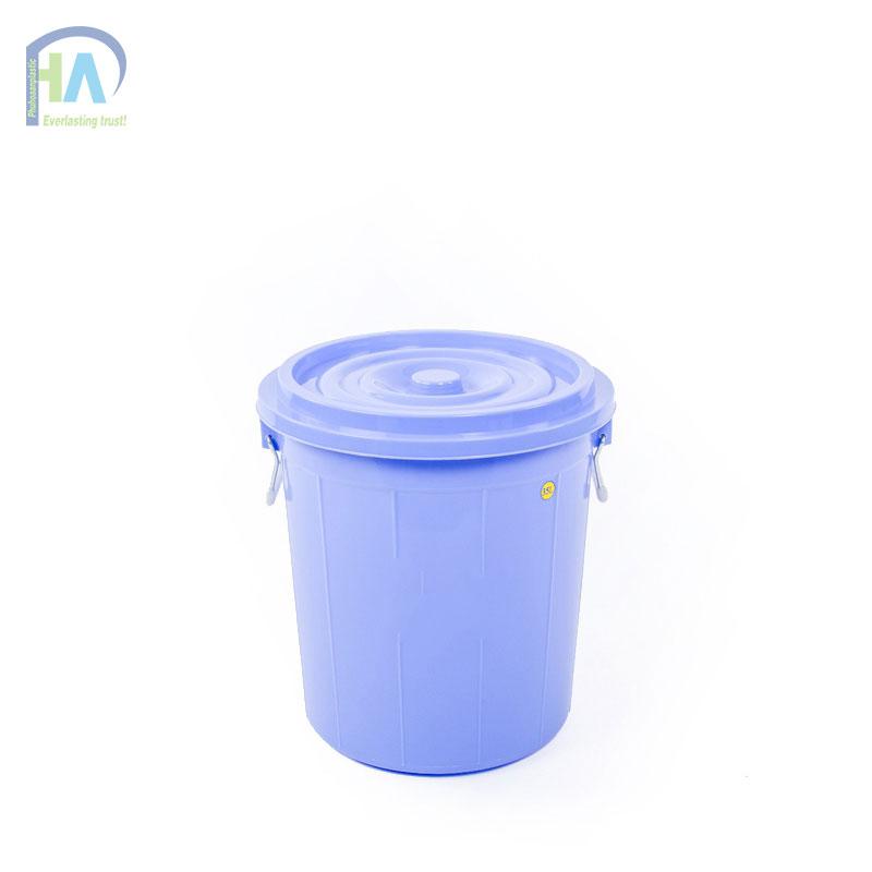 Thùng nhựa tròn 35 lít có nắp giá rẻ bất ngờ