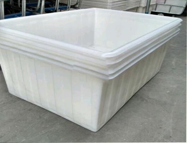 Thùng nhựa dung tích lớn, xe thùng nhựa đựng vải dệt nhuộm công nghiệp